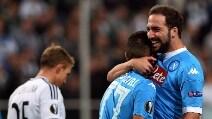 Europa League, le immagini di Legia Varsavia-Napoli