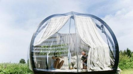 Oasis, la cupola trasparente per vedere il mondo a 360° in totale privacy
