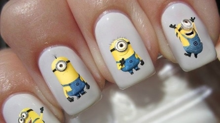 Le unghie ispirate ai Minions