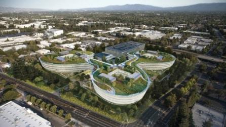 Apple, ecco il nuovo campus di Sunnyvale