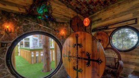 Hobbit Treehouse: benvenuti nell'hotel ispirato al Signore degli Anelli