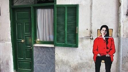 Napoli: la street art di Roxy in The Box invade i Quartieri Spagnoli