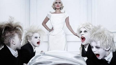 American Horror Story Hotel, le foto della serie con Lady Gaga