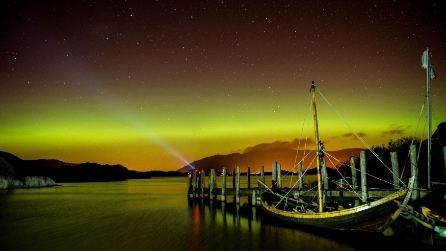 L'aurora boreale illumina l'Inghilterra: lo spettacolo mozzafiato