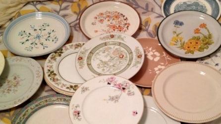 10 idee per riciclare i vecchi piatti in modo utile e creativo