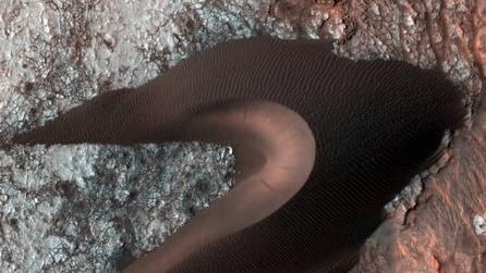 Nasa, le gigantesche dune sabbiose di Marte in alta risoluzione