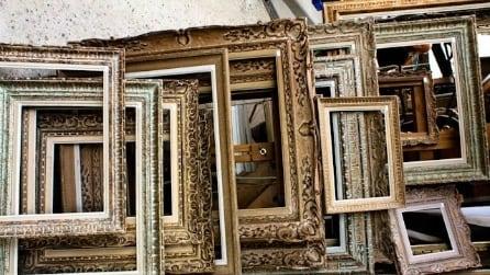 10 idee per riciclare le vecchie cornici