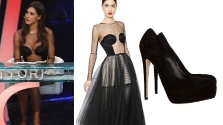 "Belén Rodriguez sexy look a ""Tu si que vales"""