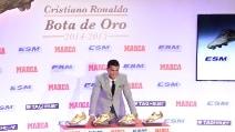 Cristiano Ronaldo, quarta Scarpa d'Oro in bacheca