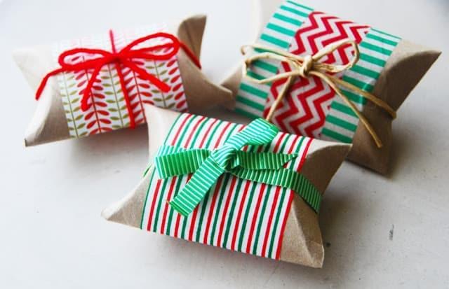 Degli originali pacchetti regalo