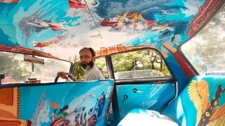 Benvenuti a Boollywood dove i taxi diventano opere d'arte viaggianti
