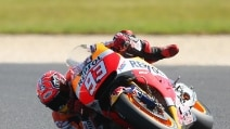 MotoGP Phillip Island, Marquez giro matto in qualifica