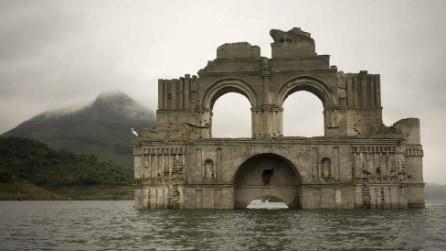 Dal fiume sbuca il Tempio dopo 450 anni: ecco cosa è successo in Messico