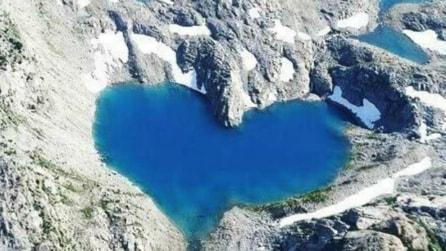 I 10 laghi a forma di cuore più romantici al mondo