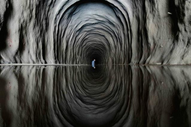 In Brasile si trova il Cuncas II, un tunnel usato per deviare e trasportare l'acqua del fiume São Francisco nella zona nordorientale del paese dove spesso c'è siccità: l'aria rarefatta e l'atmosfera fumosa rendono questo posto molto suggestivo.