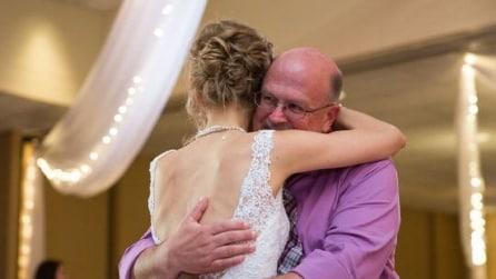 Quest'uomo le ha salvato la vita: il momento emozionante al matrimonio