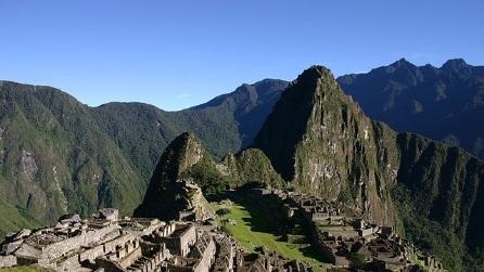 Il leggendario sito archeologico di Machu Picchu
