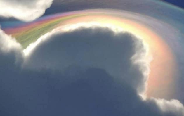 Ecco la foto postata da Beckie Bone Dunning su The Weather Channel. Seguono le foto pubblicate nei commenti al post della donna da parte altri utenti
