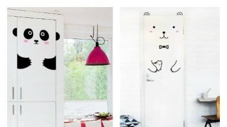 Come cambiare le porte di casa con gli stencil