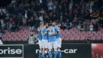 Europa League, le immagini di Napoli-Midtjylland