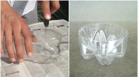Come riciclare bottiglie di plastica in un modo davvero creativo