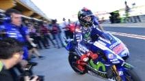 MotoGp Valencia, Lorenzo chiude davanti a tutti al venerdì. Rossi 4°