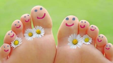 I nomi delle dita dei piedi: non c'è solo l'alluce
