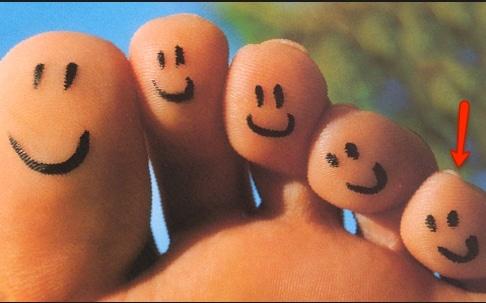 Come per la mano il più piccolo è il mignolo, in questo caso per il piede c'è il minolo.