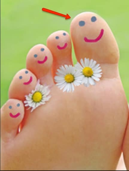 Sicuramente il nome più conosciuto tra le dita dei piedi: quello che corrisponde al pollice della mano.