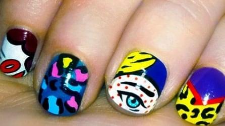 Pop art manicure