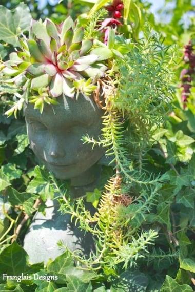 Ed ecco un porta piante davvero unico e originale!