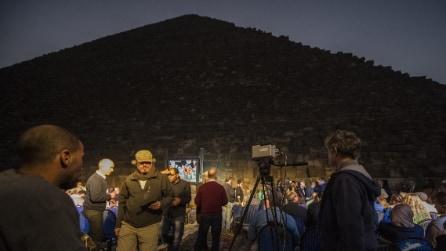 Giza, strane anomalie nelle Piramidi: le rivelazioni con gli infrarossi