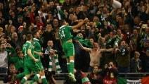 Euro 2016, playoff: Irlanda-Bosnia 2-0
