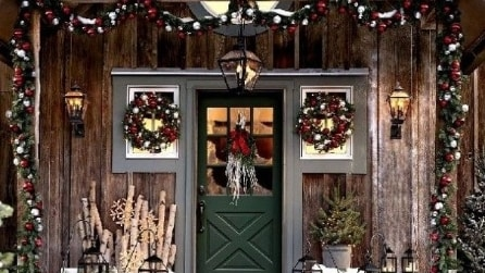 10 incredibili decorazioni natalizie da esterno