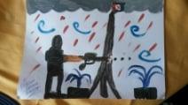 Gli effetti degli attacchi di Parigi sui disegni dei bambini italiani