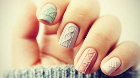 Knit Nail Art