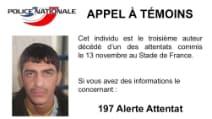"""Attentati Parigi, appello della Polizia francese: """"Ecco il terzo kamikaze, aiutateci a identificarlo"""""""