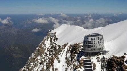 Benvenuti al Rifugio del Goûter, il futuristico rifugio sul Monte Bianco