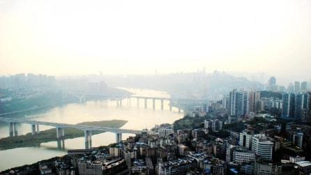 Scatti panoramici di Chongqing, la metropoli sconosciuta della Cina