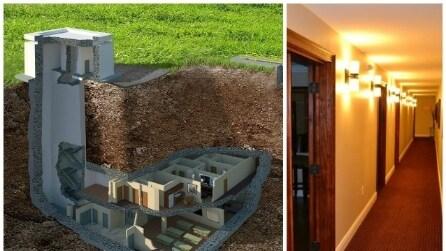 Massima sicurezza: ecco l'ex bunker convertito in casa di lusso