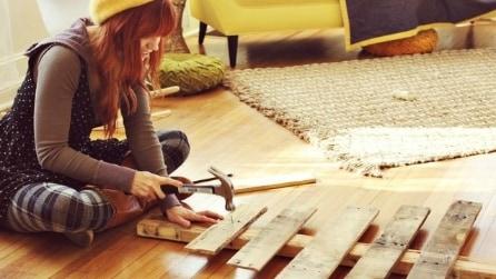 10 modi per creare un albero di Natale con le pedane di legno