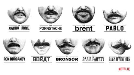 I baffi più cool al mondo per combattere il cancro maschile