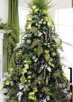 Albero di Natale in verde