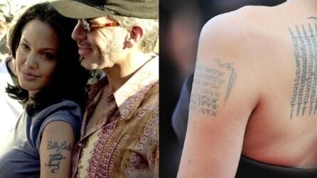 Le star che si sono pentite dei loro tatuaggi