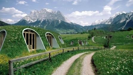Green Magic Homes: la casa da hobbit fai da te pronta in soli 3 giorni