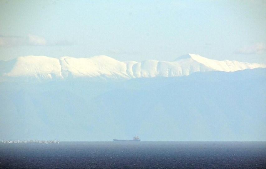 La visuale privilegiata dalla punta orientale estrema della regione Puglia.