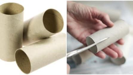 Come riutilizzare i rotoli di carta igienica in maniera creativa