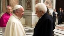 Giubileo 2016, l'incontro tra Papa Francesco e il Presidente Mattarella