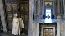 Giubileo della Misericordia, Papa Francesco apre e attraversa la Porta Santa