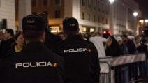 Giubileo della Misericordia. in Piazza San Pietro c'è la polizia spagnola